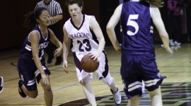 Drew Girls Varsity Basketball 010811