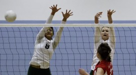 Saint Ignatius v Sacred Heart Cathedral Girls Volleyball 110210